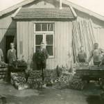 Werken op de tuinderij – Anne de Vries die wel eens langs kwam