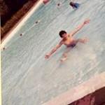 Een heldendaad in het zwembad