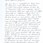 Co Passchier schrijft een brief aan haar pleegvader