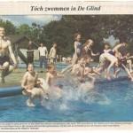 Redding voor zwembad De Glind